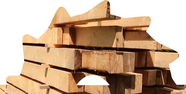 Drevené hranoly od Píla - Pali